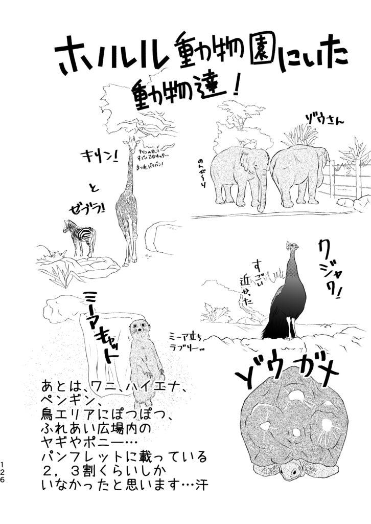 ホノルル動物園 キリン ゼブラ ゾウ クジャク ゾウガメ ミーアキャット ペンギン