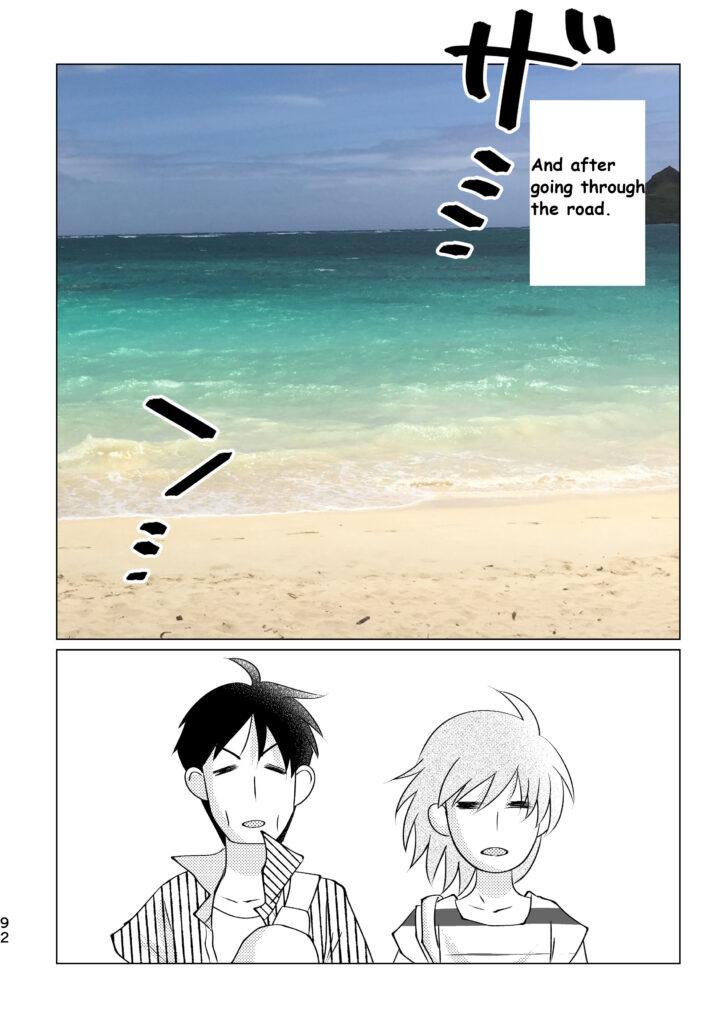 Heavenly sea Lanikai beach