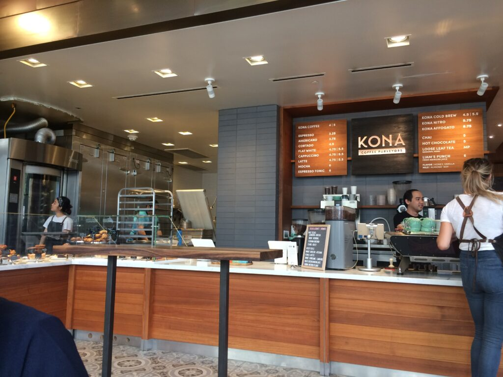 Kona Coffee Purveyors in international market place