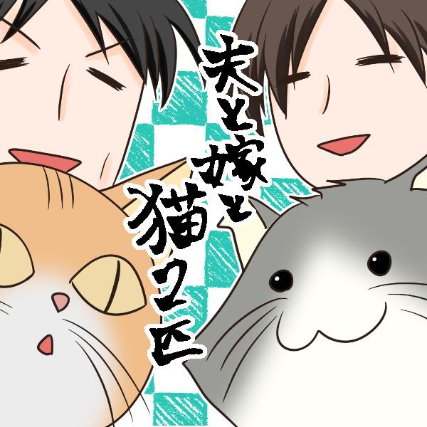 【日常記】夫と嫁と猫2匹